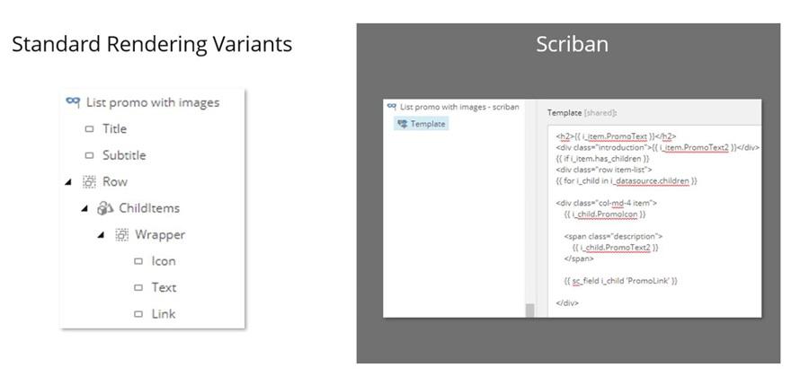Scriban vs standard variant